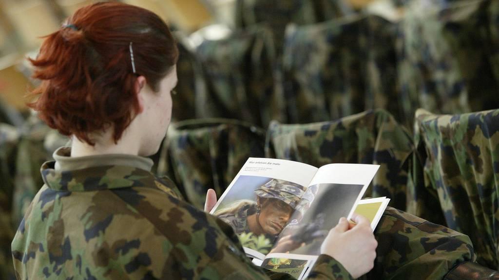 Schweizer Armee Frauen