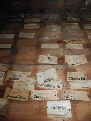 Die Experten von SBB Historic fanden eine alte Speditionseinrichtung für Stückgut.