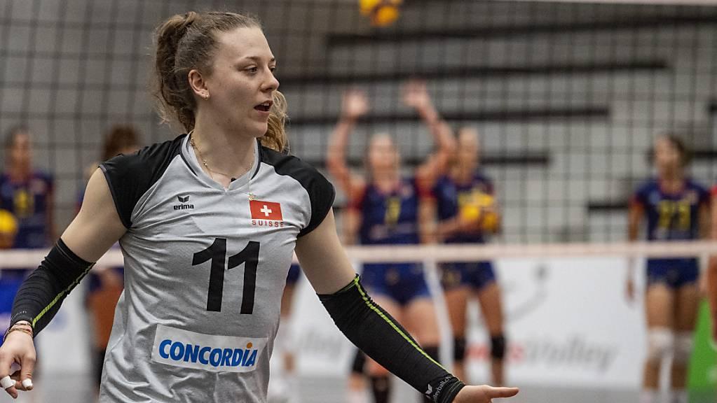 Keine punktet in Nationalteam so oft wie Maja Storck.
