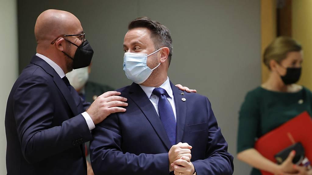 Luxemburgs Premierminister nach Covid-Infektion im Krankenhaus