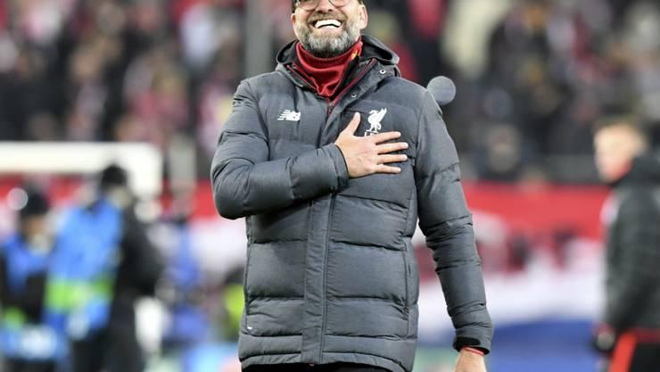 Jürgen Klopp hat seinen Vertrag beim FC Liverpool bis 2024 verlängert
