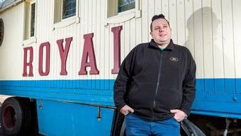 Der Geschäftsführer des Circus Royal, Oliver Skreinig (23. März 2017).