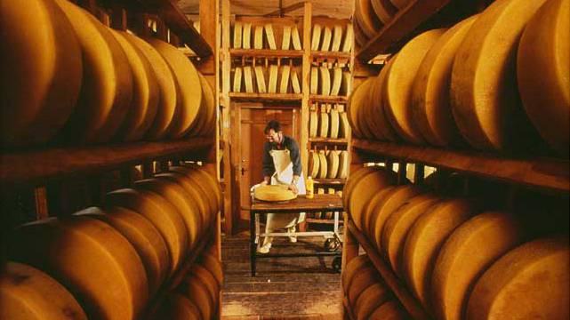 Über 75'000 Tonnen Schweizer Käse exportiert