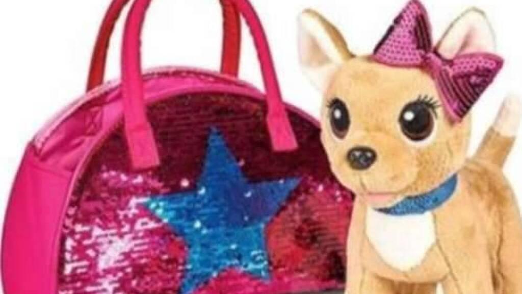Drogeriekette Müller ruft Tasche mit Plüschhund zurück