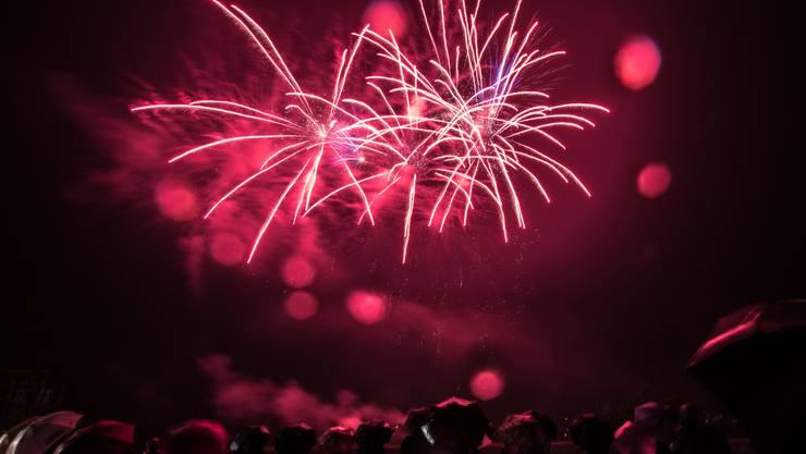 Feuerwerk sorgt für grosse Luftbelastung.