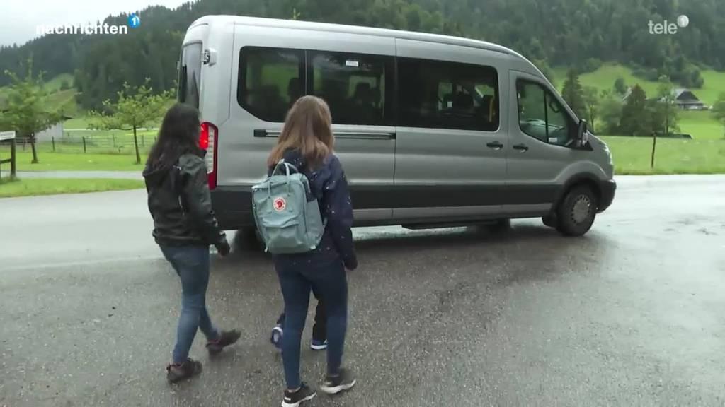 Letzter Tag für Trudy's Schulbus in Wiggen