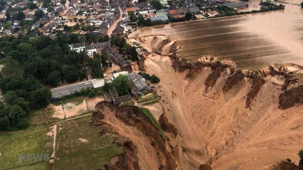 Verheerende Hochwasserkatastrophe in Deutschland