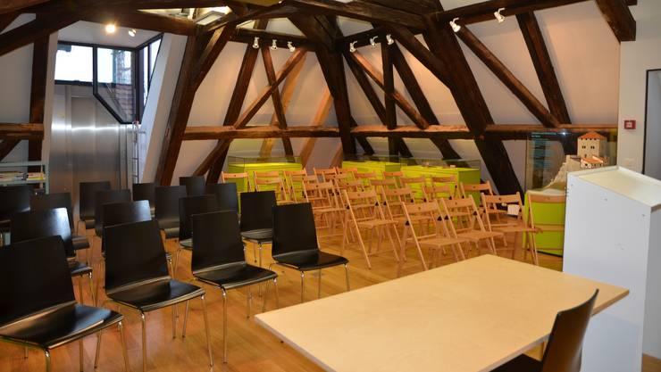 35 Mal vermietete das Museum den Marti-Schenk Raum an Gruppen, die einen Vereinsanlass, eine Schulung oder ähnliches durchführten.