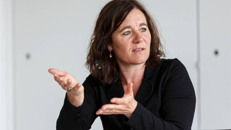 Sie will an die Spitze der SP-Frauen: Franziska Roth.