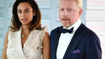 Ein Bild aus besseren Tagen: Die Zeit der Trennung sei die schlimmste Zeit ihres Lebens gewesen, gestand die Ex-Frau der deutschen Tennislegende Boris Becker. (Archivbild)