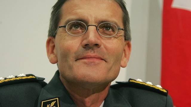 Ex-Armeechef Roland Nef (Archiv)