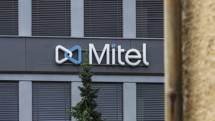 Das Firmengebäude der Mitel in Solothurn.