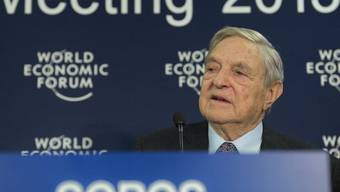 George Soros am WEF