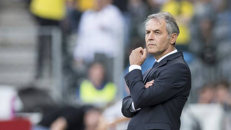 FCB-Trainer Marcel Koller weiss: «Es ist uns bewusst, dass wir aktuell nicht an YB herankommen.»