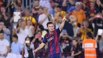 Doppeltorschütze zum Saisonstart: Barças Lionel Messi