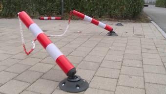 """Der Bericht von """"Tele M1"""" zum Parkplatz-Problem im Suhrenmattweg."""