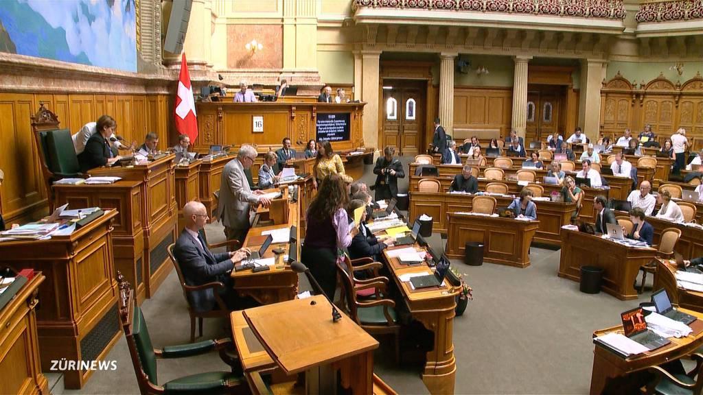 Begrenzungsinitiative: Mehrstündige Debatte im Nationalrat