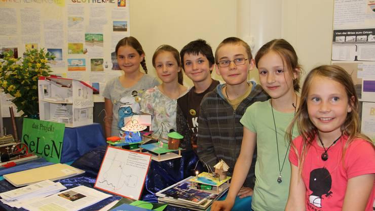 Die Schüler des Stapferschulhauses präsentierten am Weltumwelttag ihr Projekt