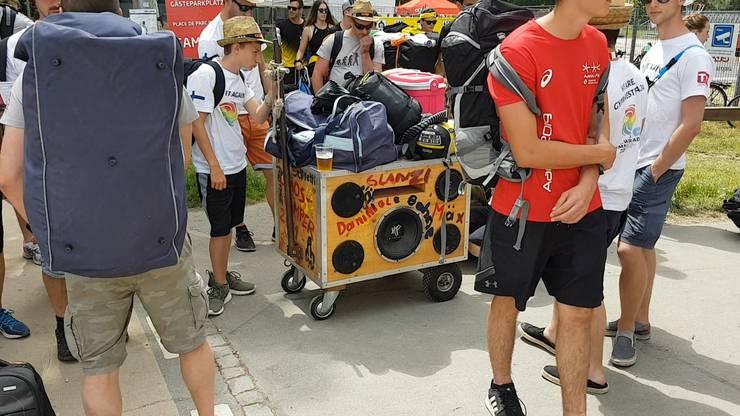 Weit gereist: Der Begleiter von Tecnoplast TS Höchst aus Österreich