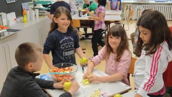 Projektwoche «fit & rank» in Kindergarten und Primarschule Oensingen