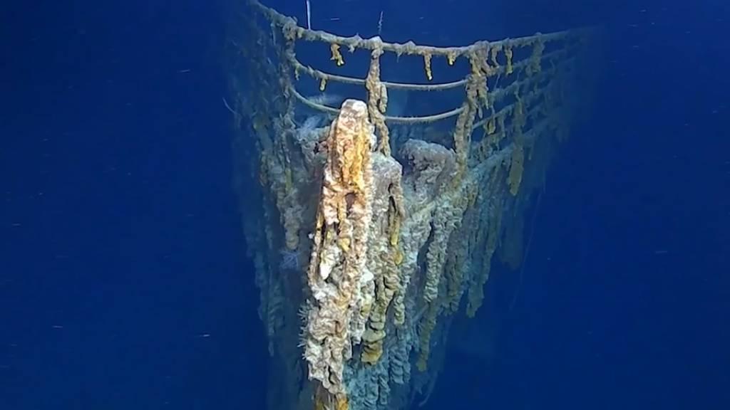 Klein-U-Boot rammte das Wrack der «Titanic»