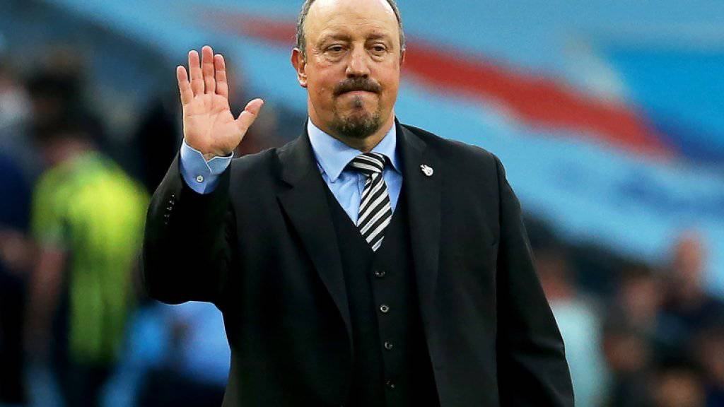 "Rafael Benitez sagt in Newcastle ""Goodbye"""