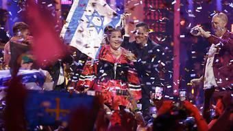 """Netta Barzilai aus Israel hatte mit ihrem Song """"Toy"""" den letzten Eurovision Song Contest (ESC) in Portugal gewonnen. Am nächsten ESC in Israel werden über 40 Länder teilnehmen - trotz Boykottaufrufen. (Archivbild)"""