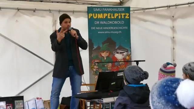 Soledurner Wiehnachtsmäret 2018: Simu Fankhauser singt das Geburtstagslied