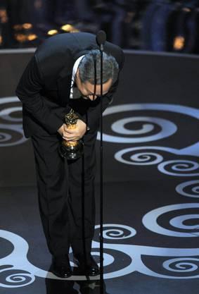 Ange Lee  bedankt sich für den Oscar für die beste Regie für «Life of Pi»