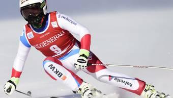 Lara Gut verlor im ersten Training in Lake Louise knapp eine Sekunde auf die Bestzeit