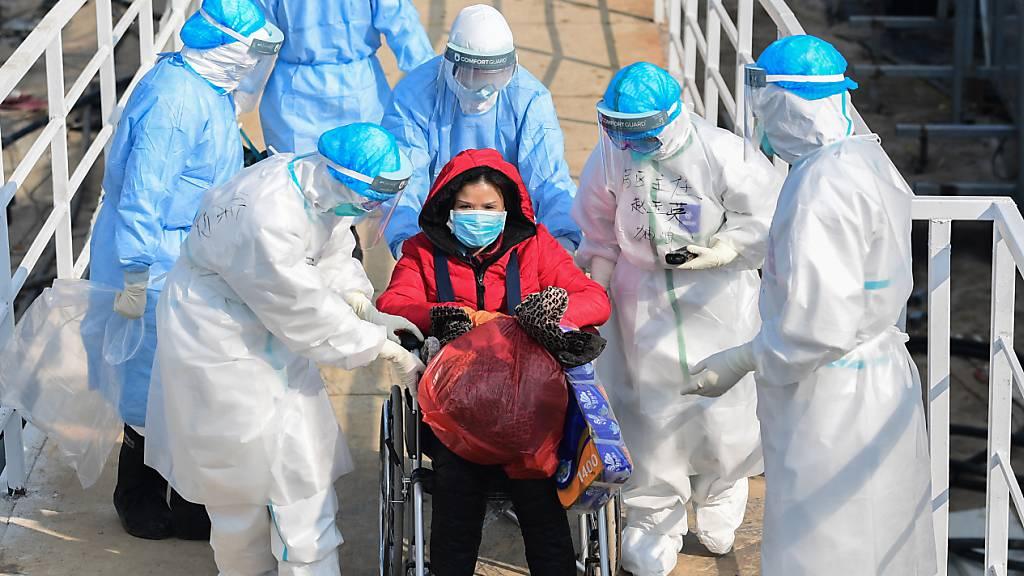 Die Zahl der Infektionen mit dem Coronavirus in der chinesischen Provinz Hubei steigt und steigt.