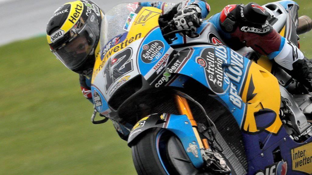 Tom Lüthi auf dem Circuit Ricardo Tormo in Valencia
