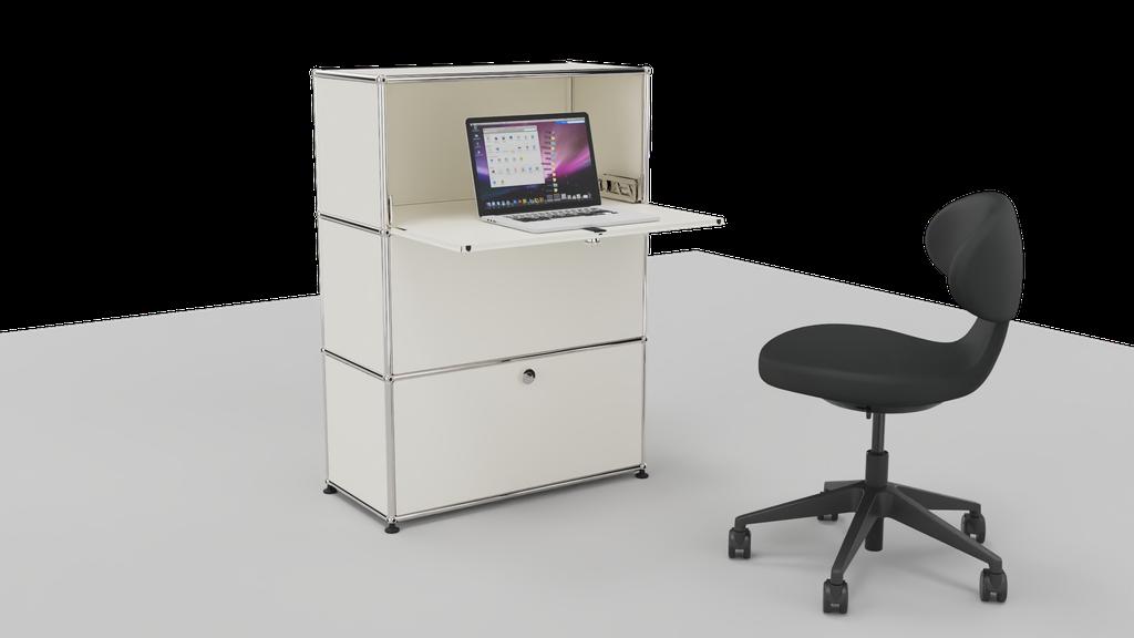 Gewinne dieses USM Möbel mit Bürostuhl