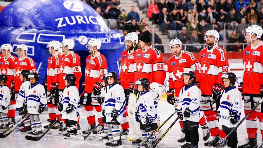 «Lucerne Cup»: Die Eishockey-Nati in Luzern