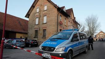 Der Schauplatz des tödlichen Familiendramas in Rot am See bei Schwäbisch-Hall.