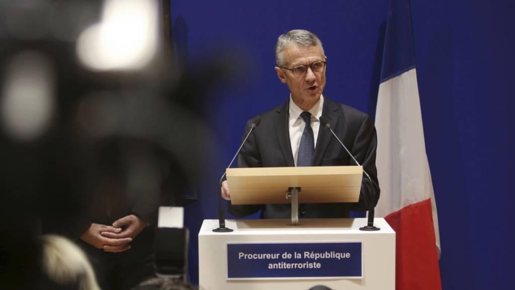 Nach Angaben von Staatsanwalt Jean-François Ricard hat der Angreifer, der in der Pariser Polizeidirektion vier Menschen tötete, eine radikale Sichtweise des Islam vertreten.