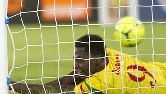 Malis Cheick Diabate erzielte beide Treffer gegen Ghana.