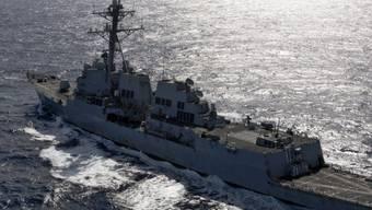 """US-Zerstörer """"Kidd"""" auf dem Pazifik: Zwei US-Militärschiffe sind am Dienstag vom Iran festgehalten worden. Offenbar haben sie iranisches Hoheitsgewässer verletzt. (Symbolbild)"""