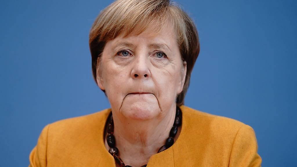 Die deutsche Bundeskanzlerin Angela Merkel. Foto: Kay Nietfeld/dpa-Pool/dpa