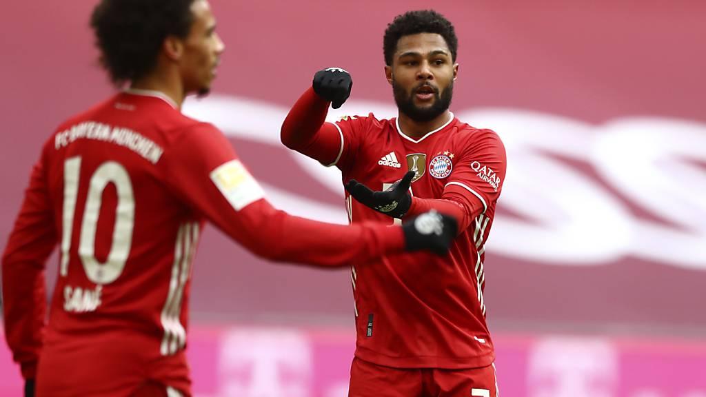 Serge Gnabry rührt gegen Köln für die Bayern mit der grossen Kelle an