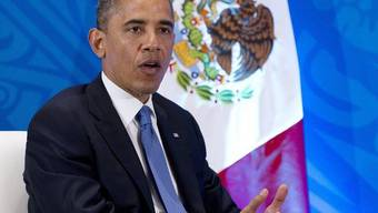 Auch US-Präsident Barack Obama nimmt am G20-Gipfel in Mexiko teil