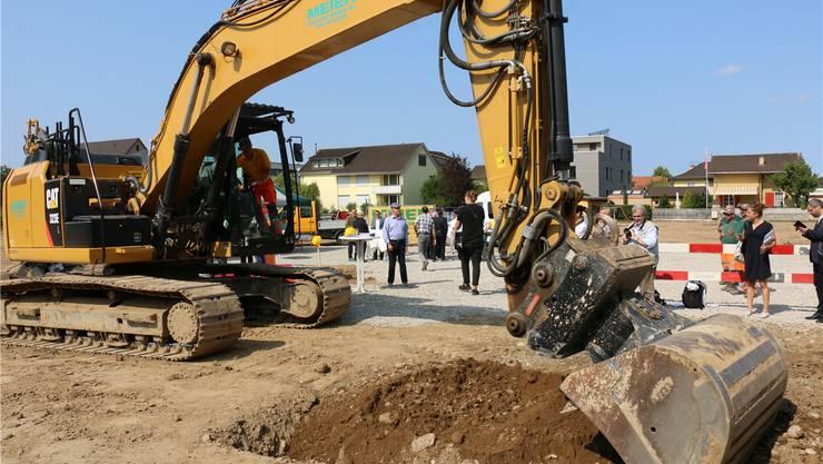 Im Sommer soll es mit den Rohbauarbeiten der «Altstadt» beim Langäckerquartier losgehen.