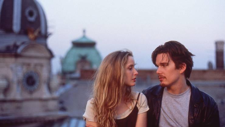 Einer der schönsten Liebesfilme aller Zeiten: Julie Delpy und Ethan Hawke 1995 in «Before Sunrise».