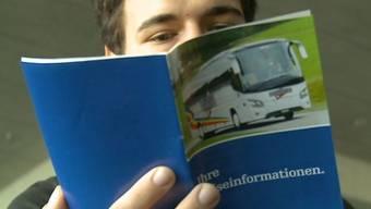 Eurobus-Reiseteilnehmer Dennis Brütsch.
