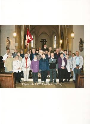 Pilgergruppe