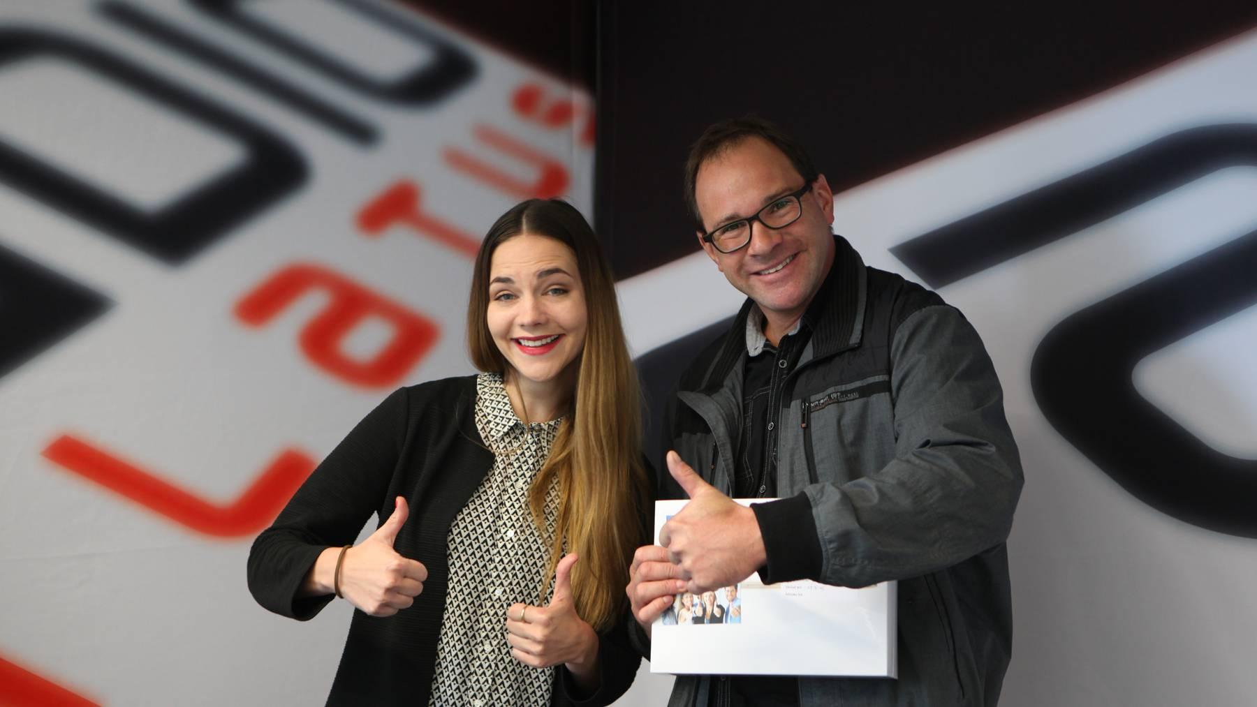 Hit 600: Martin aus Ebikon gewinnt MacBook Gold