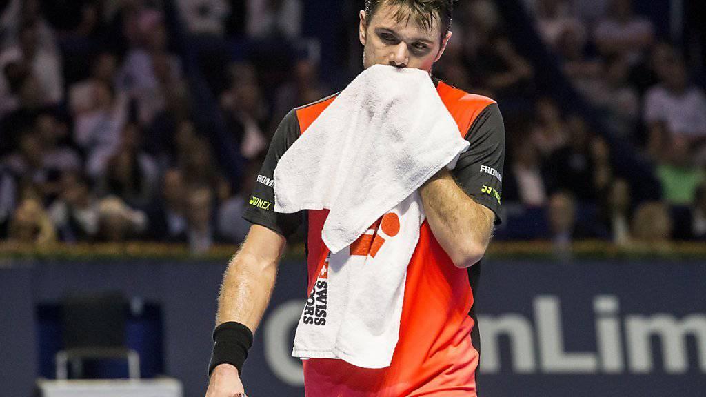 Zuletzt erreichte Stan Wawrinka bei den Swiss Indoors in Basel die Viertelfinals