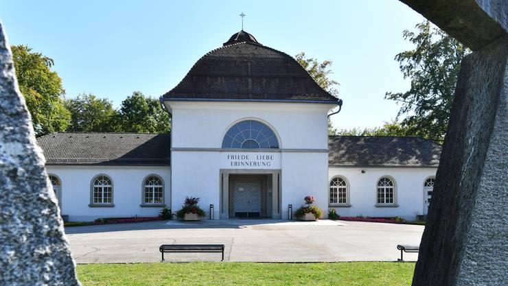 Krematorium: Rückbau oder Erneuerung der Infrastruktur? Am 24. September stellt das Gemeindeparlament die Weichen.