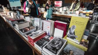 Start des Buchfestivals Olten