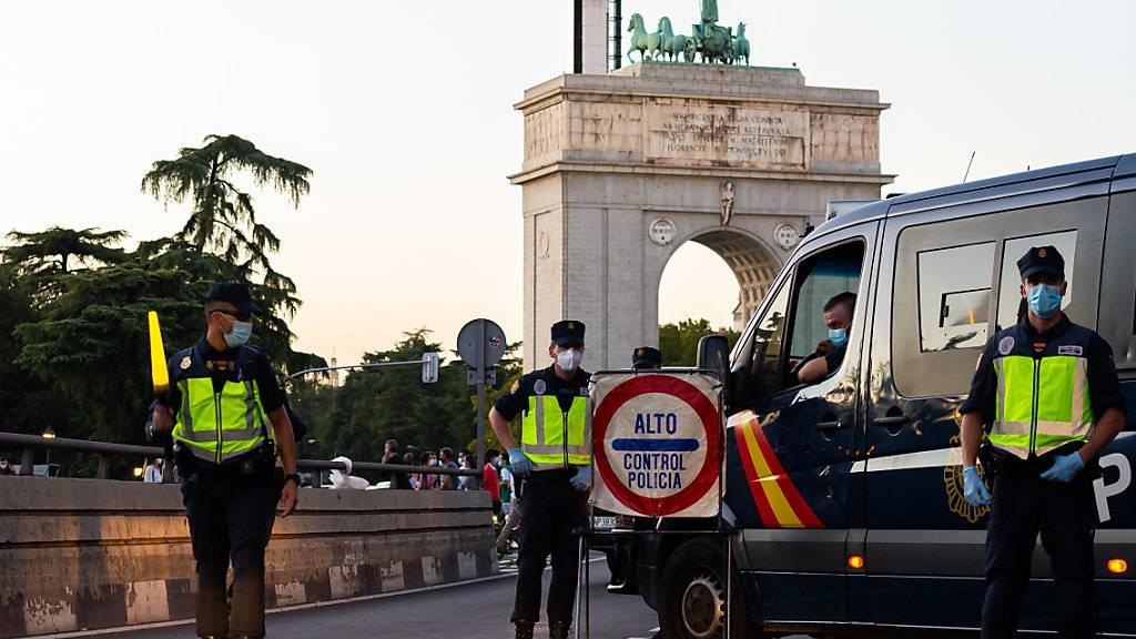 Spanische Justiz kippt Corona-Abriegelung der Hauptstadt Madrid